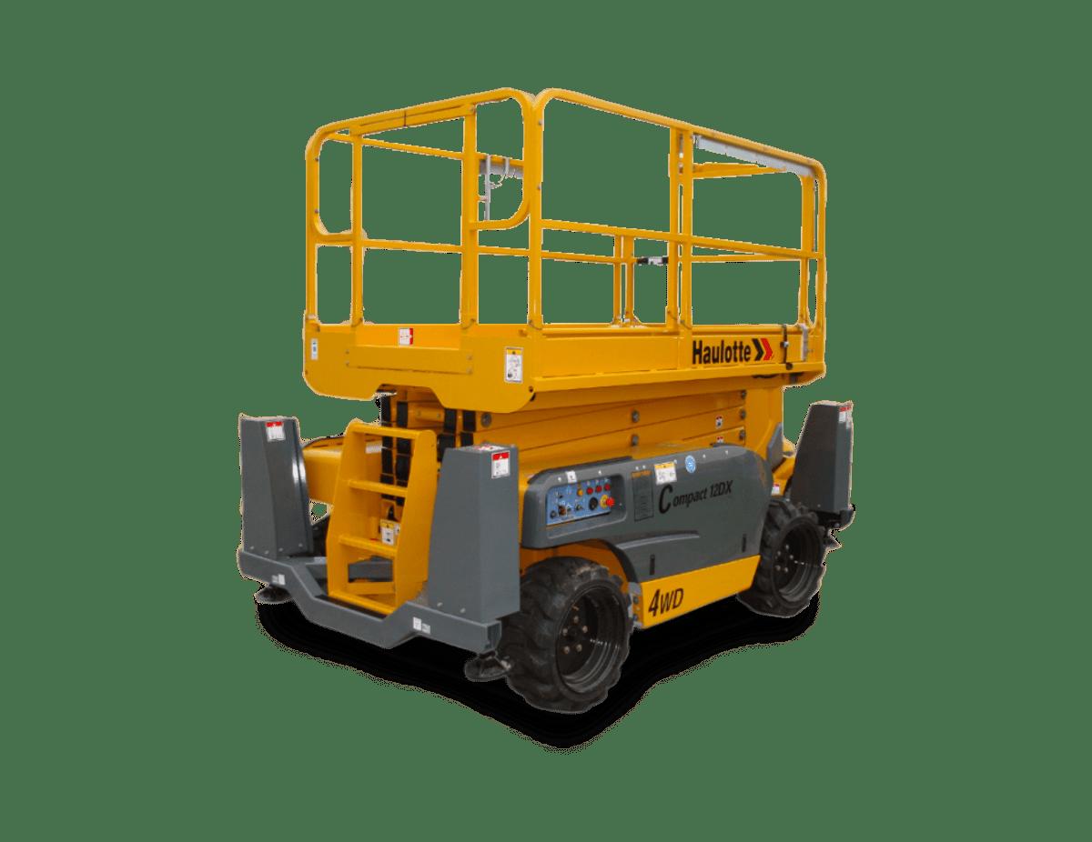 Nůžková plošina Haulotte Compact 12 DX Plošiny Liberec