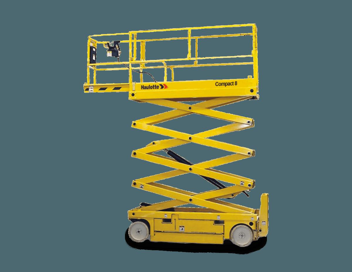 Nůžková plošina Haulotte Compact 8 Plošiny Liberec